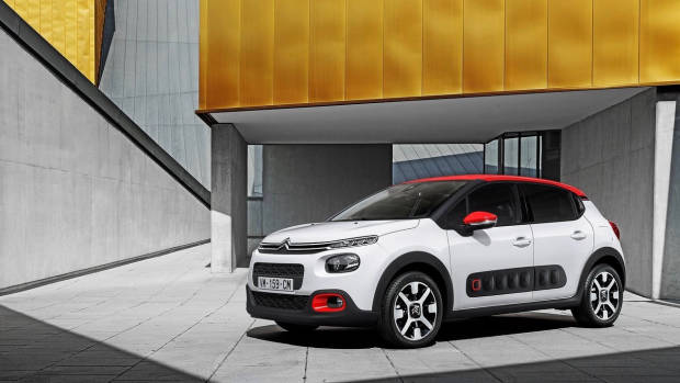 2018 Citroen C3 white front far