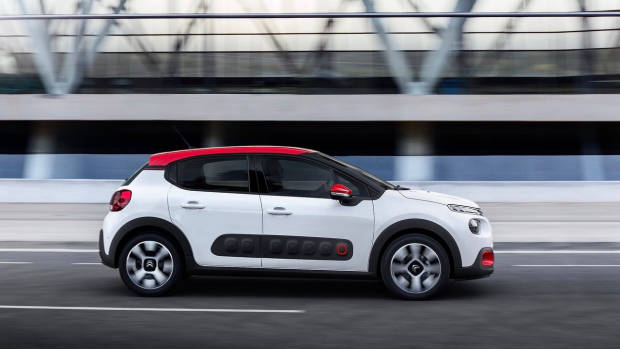 2018 Citroen C3 white side