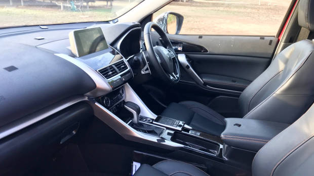 2018 Mitsubishi Eclipse Cross prototype interior