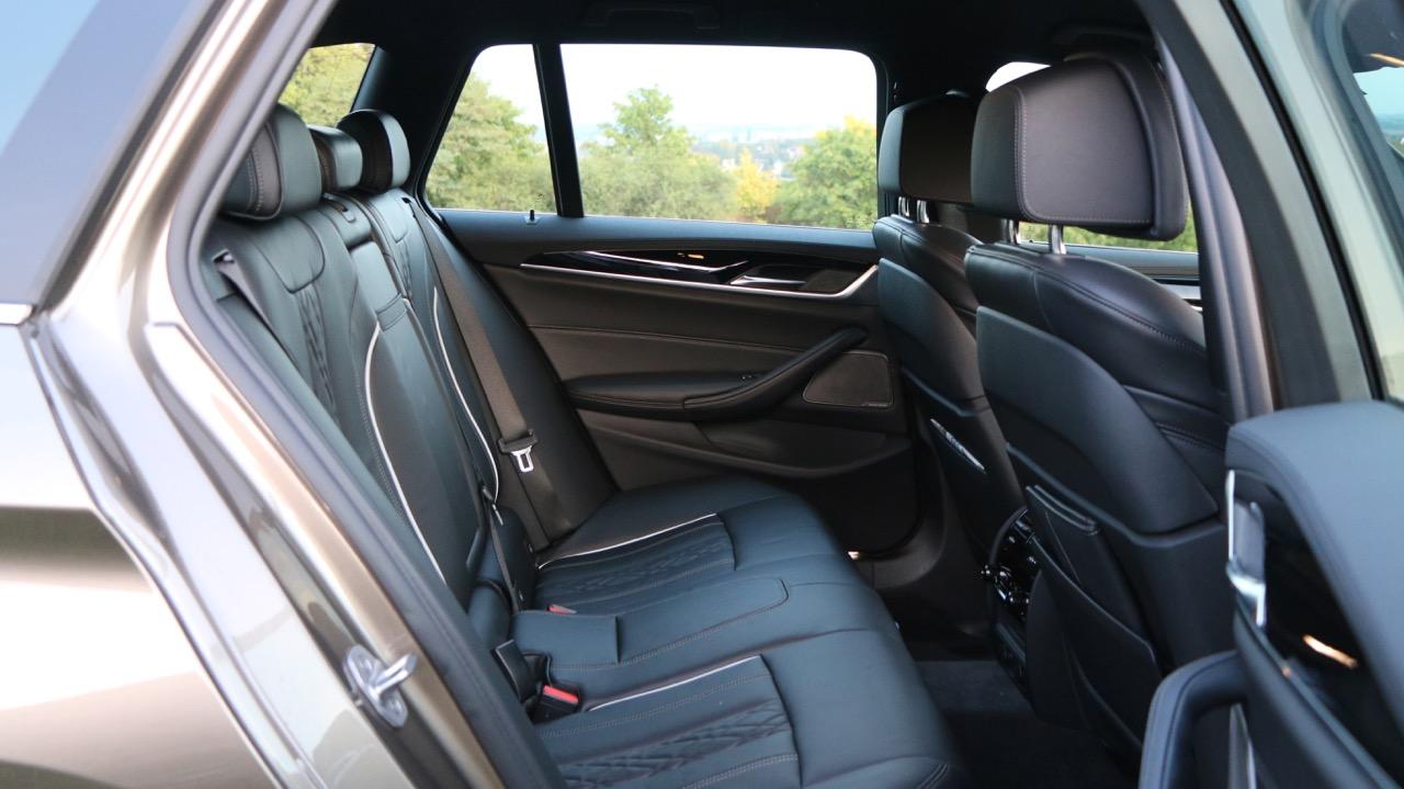 2018 BMW 5 Series Touring G31 Back Seat