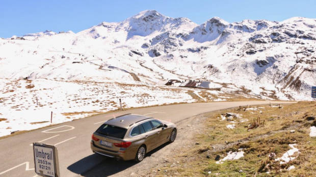 2018 BMW 5 Series Touring Rear End Umbail Pass
