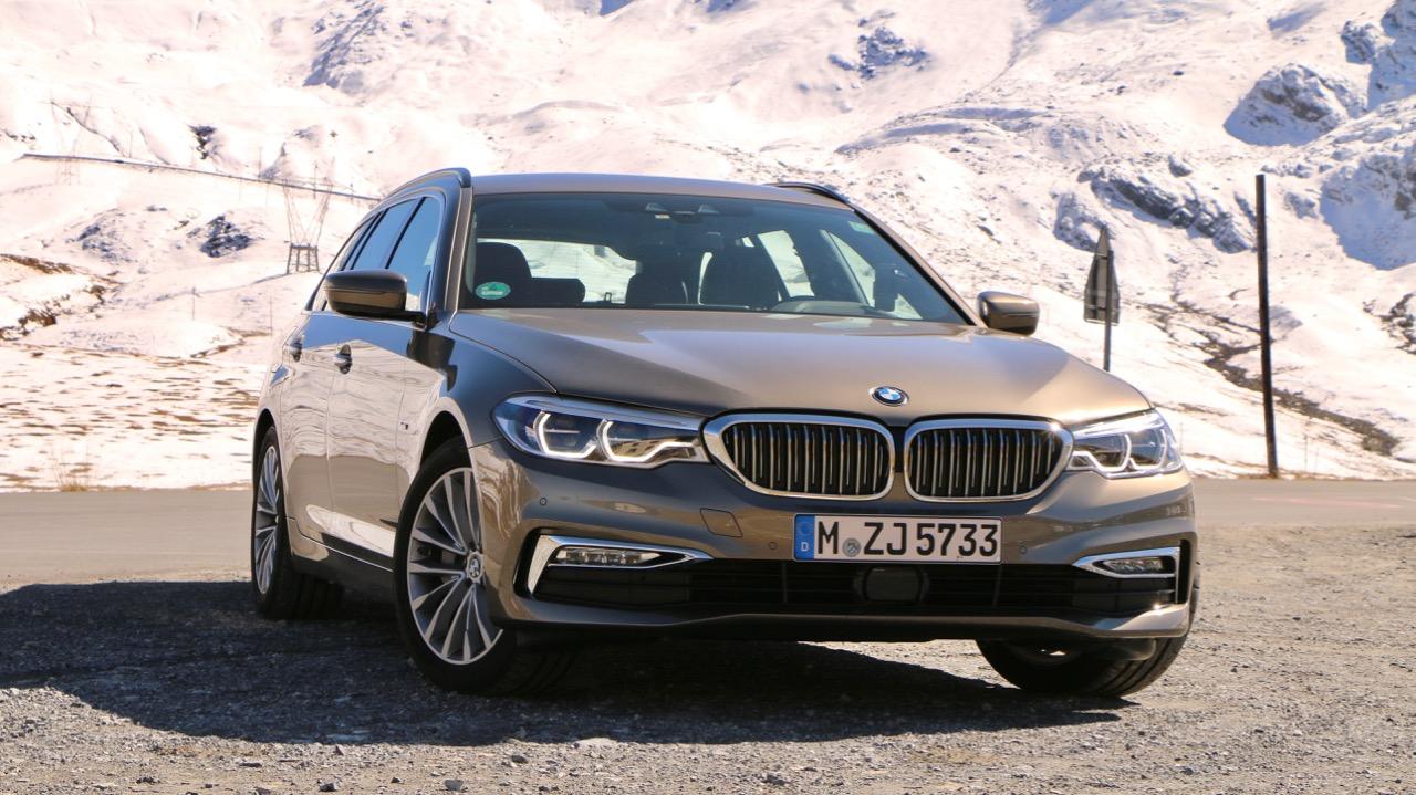 2018 BMW 5 Series Touring Umbrail Pass Switzerland