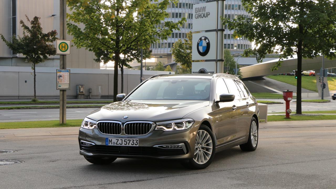 2018 BMW 5 Series Touring at BMW Headquarters Munich