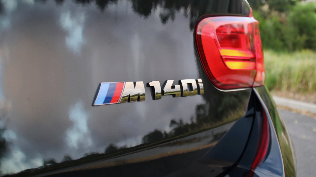 2018 BMW M140i Review M Badge Black Sapphire