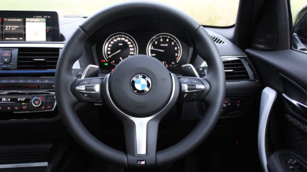 2018 BMW M140i Review M Steering Wheel