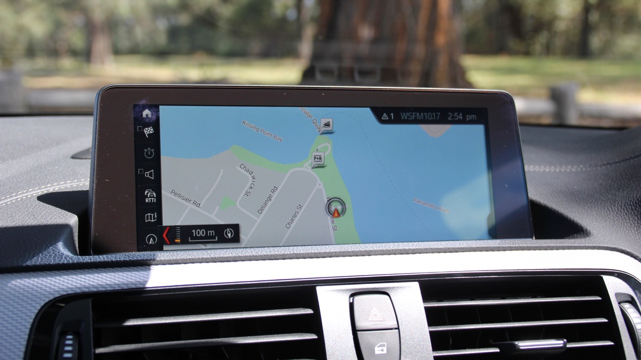 2018 BMW M140i Review iDrive 6 Navigation Screen