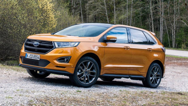 2018 Ford Edge ST-Line front side