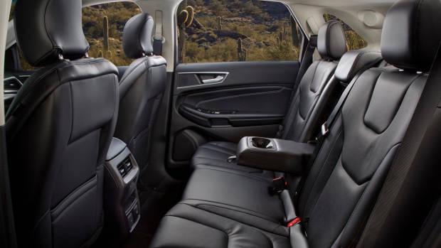 2018 Ford Edge rear seat