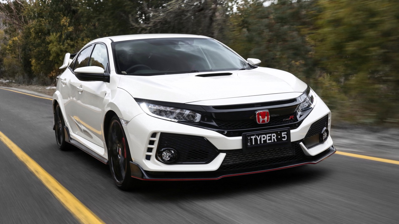2018 Honda Civic Type R Front End Championship White