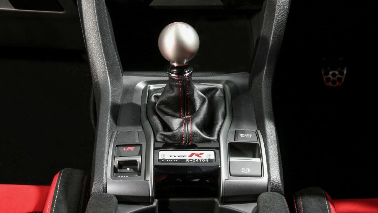 2018 Honda Civic Type R Manual Gear Shift Knob
