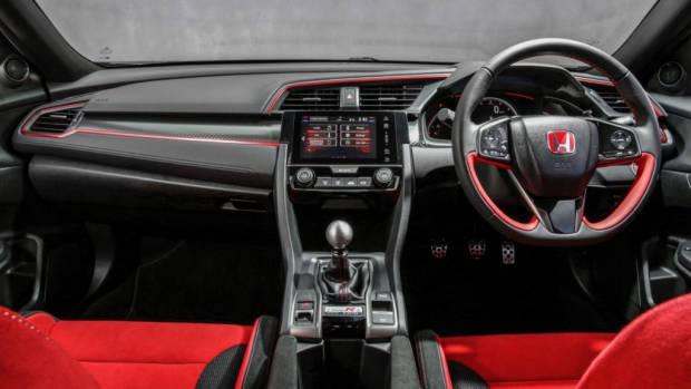 2018 Honda Civic Type R Red and Black Interior
