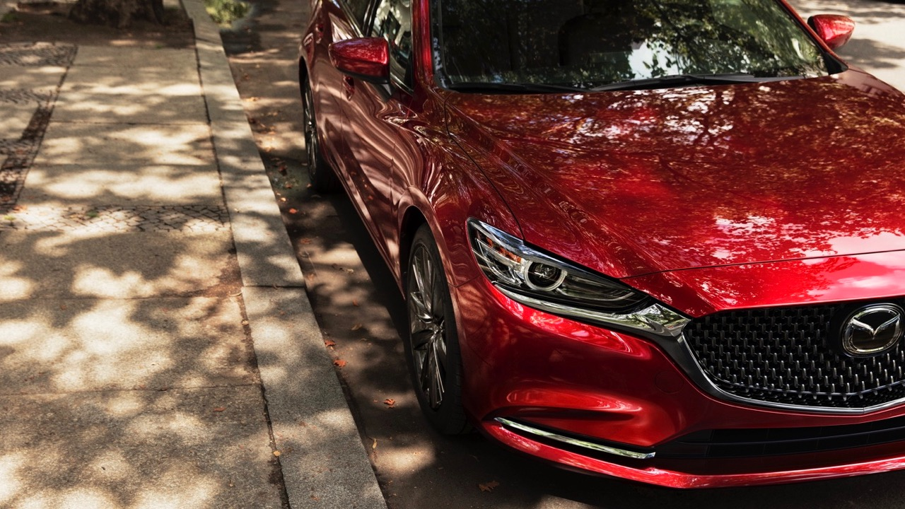 2018 Mazda 6 Soul Red Crystal front