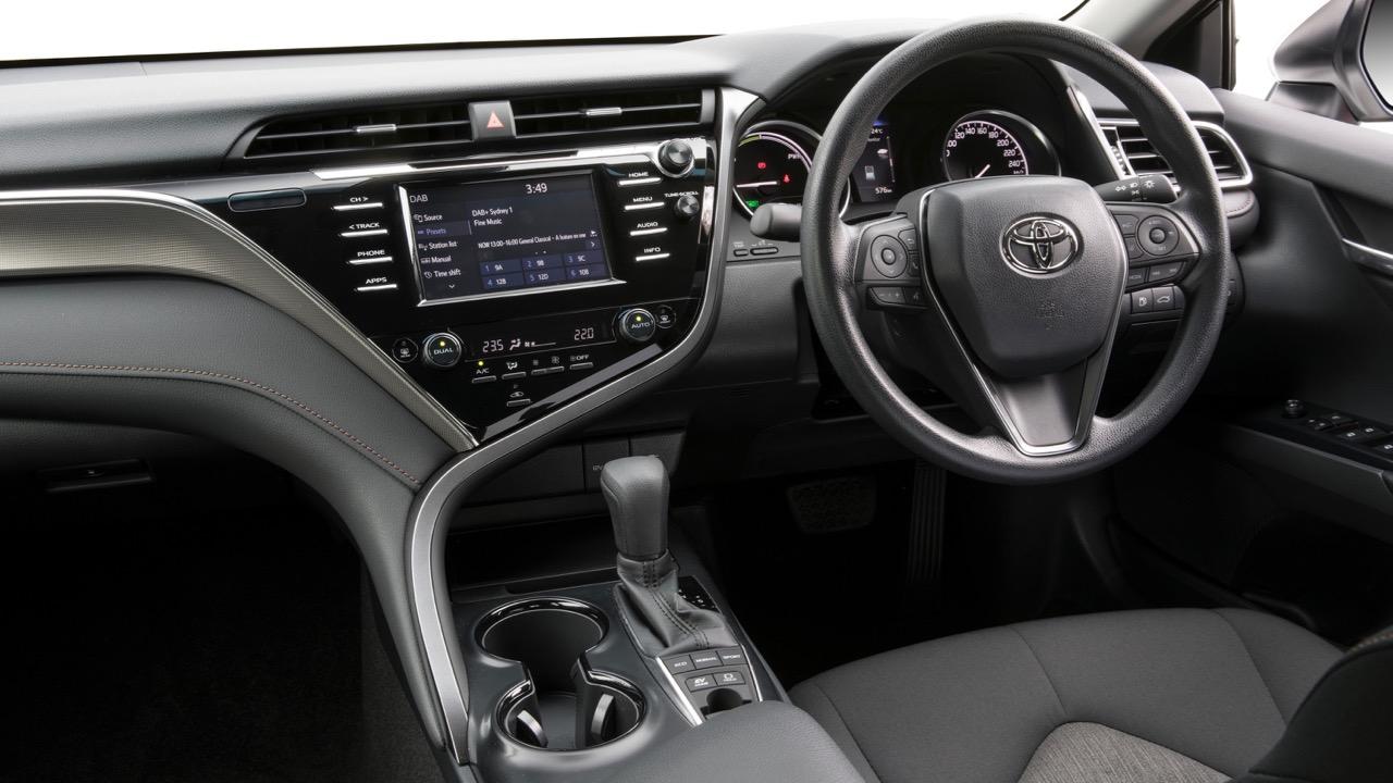 2018 Toyota Camry Altise Grey Dashboard