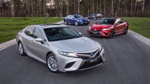 2018 Toyota Camry Range