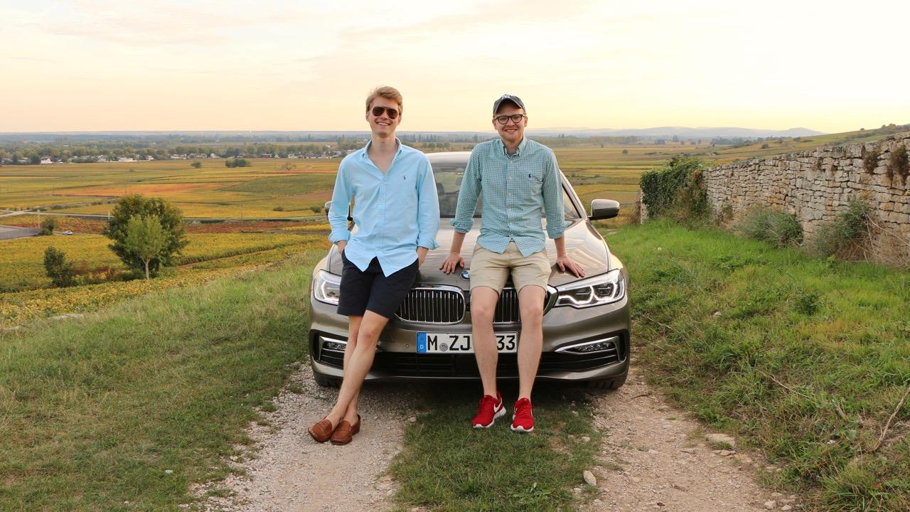 BMW 5 Series Road Trip in Europe