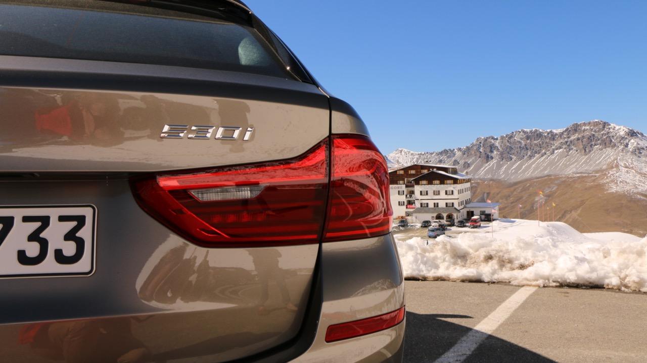 2018 BMW 530i Touring Badge