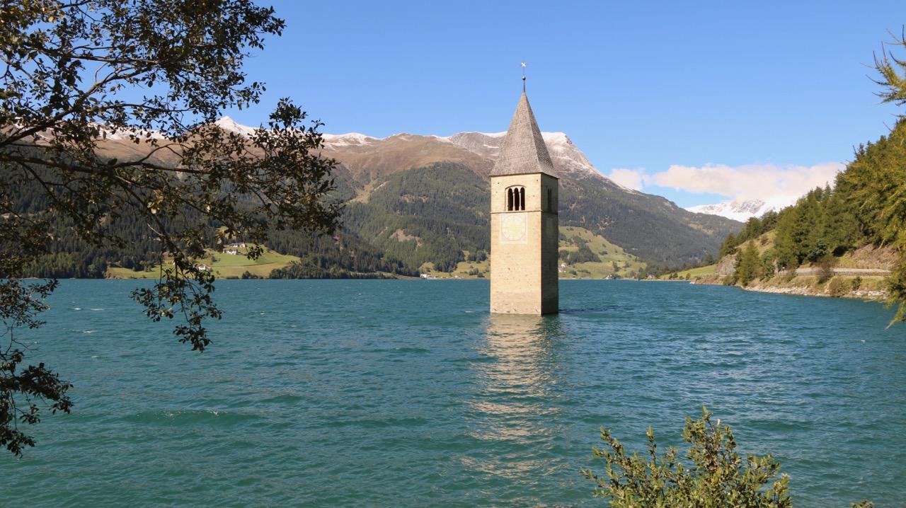 Lago di Resia Church Italy