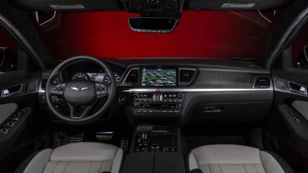2018 Genesis G80 Sport front