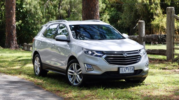 2018 Holden Equinox LTZ Nitrate Silver Front End