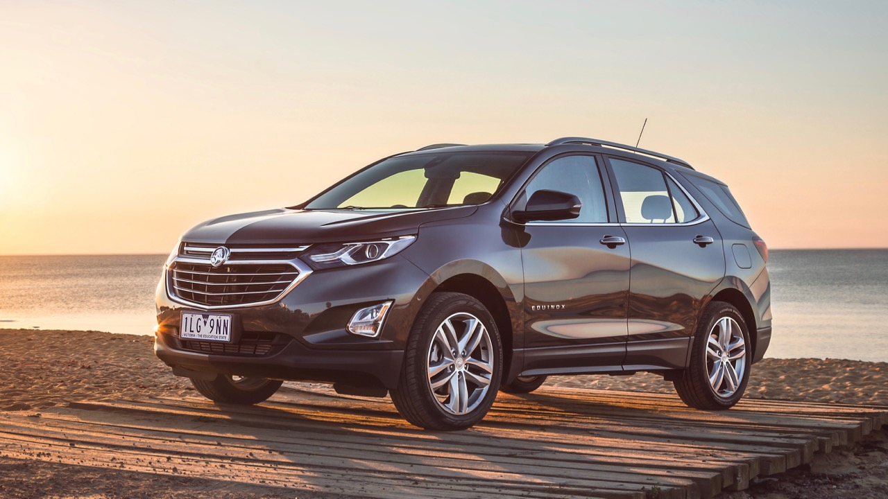 2018 Holden Equinox LTZ-V Son of a Gun Grey Front End