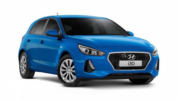 2018 Hyundai i30 Go blue front
