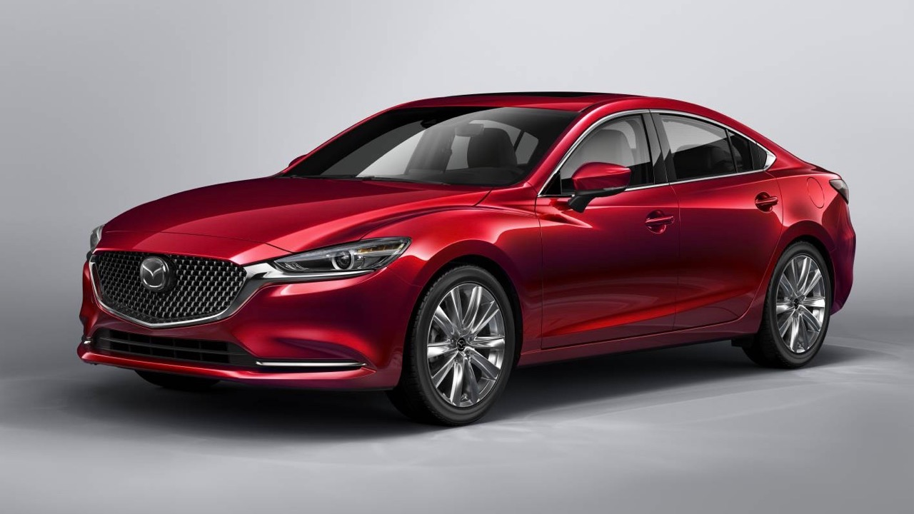 2018 Mazda 6 Atenza Soul Red Crystal front