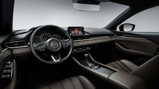 2018 Mazda 6 Atenza chocolate interior