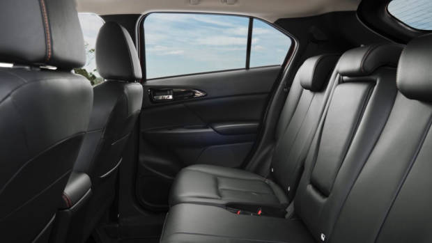 2018 Mitsubishi Eclipse Cross Back Seat Space