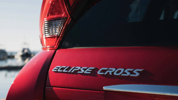 2018 Mitsubishi Eclipse Cross Badging