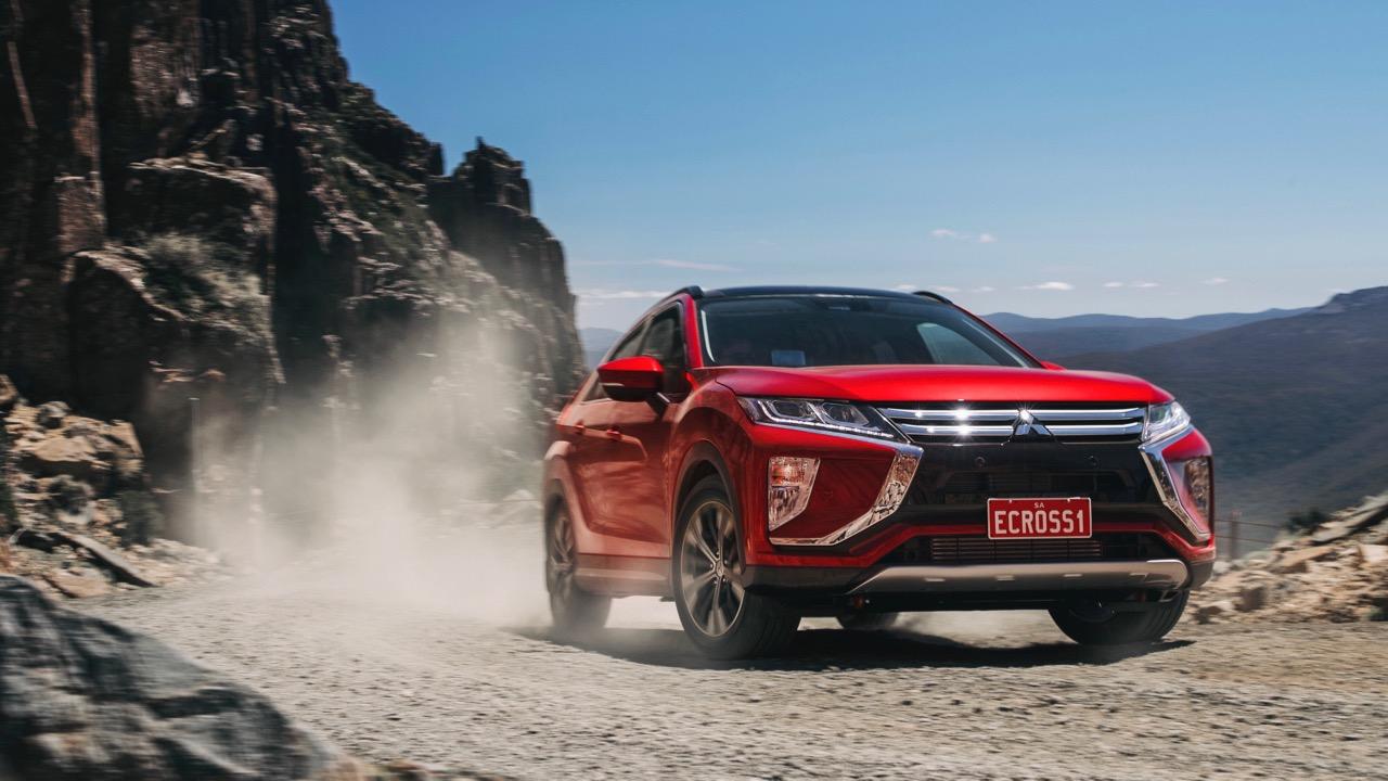 2018 Mitsubishi Eclipse Cross Red Diamond Off Road