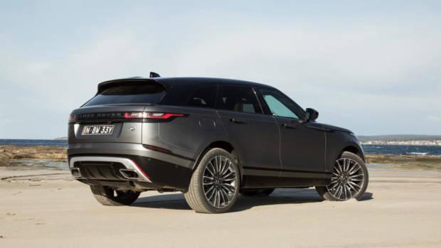 2018 Range Rover Velar R-Dynamic First Edition Rear End