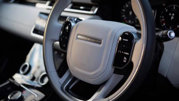 2018 Range Rover Velar R-Dynamic White Black Leather Interior