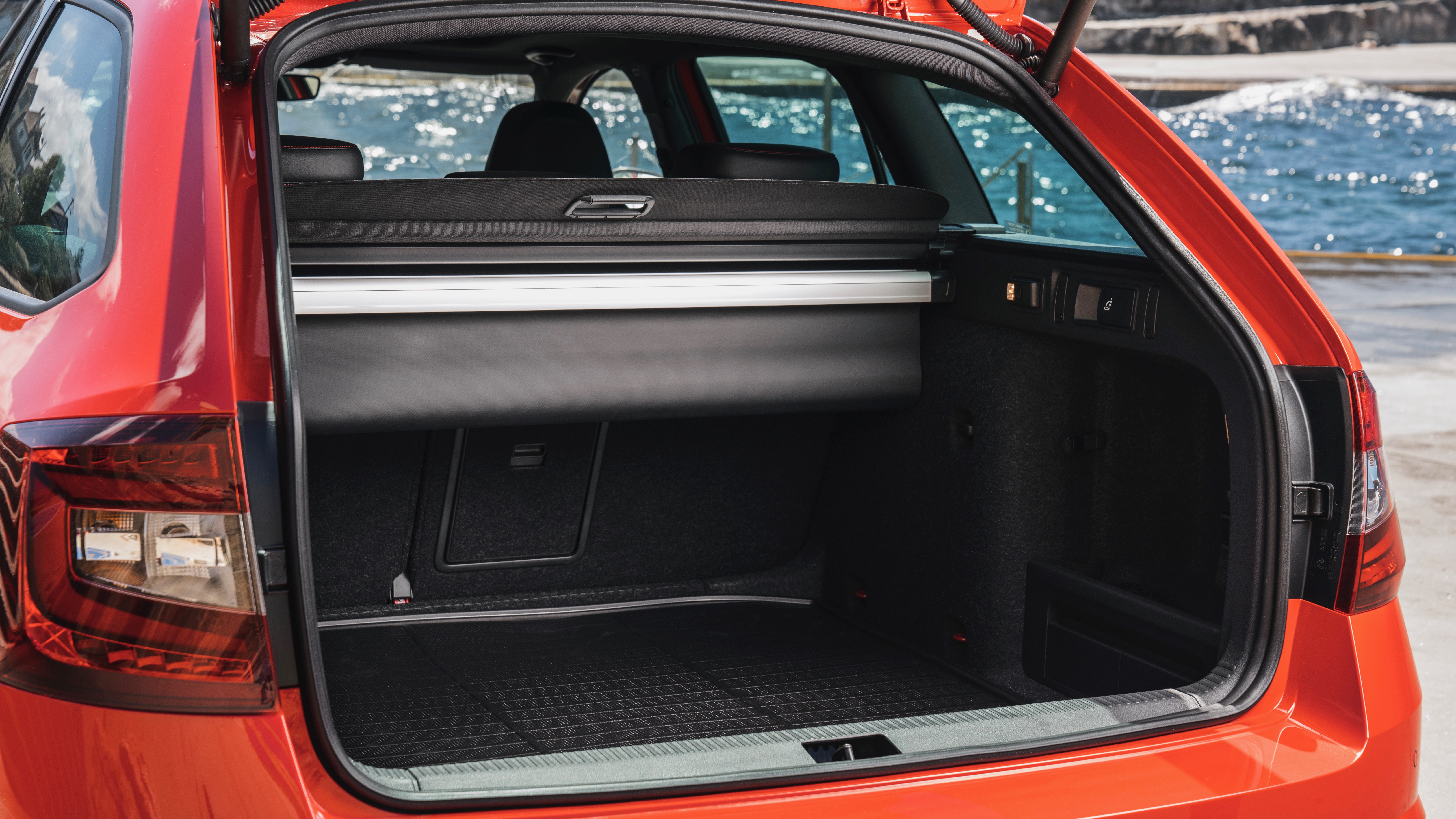 2018 Skoda Octavia RS245 wagon boot space