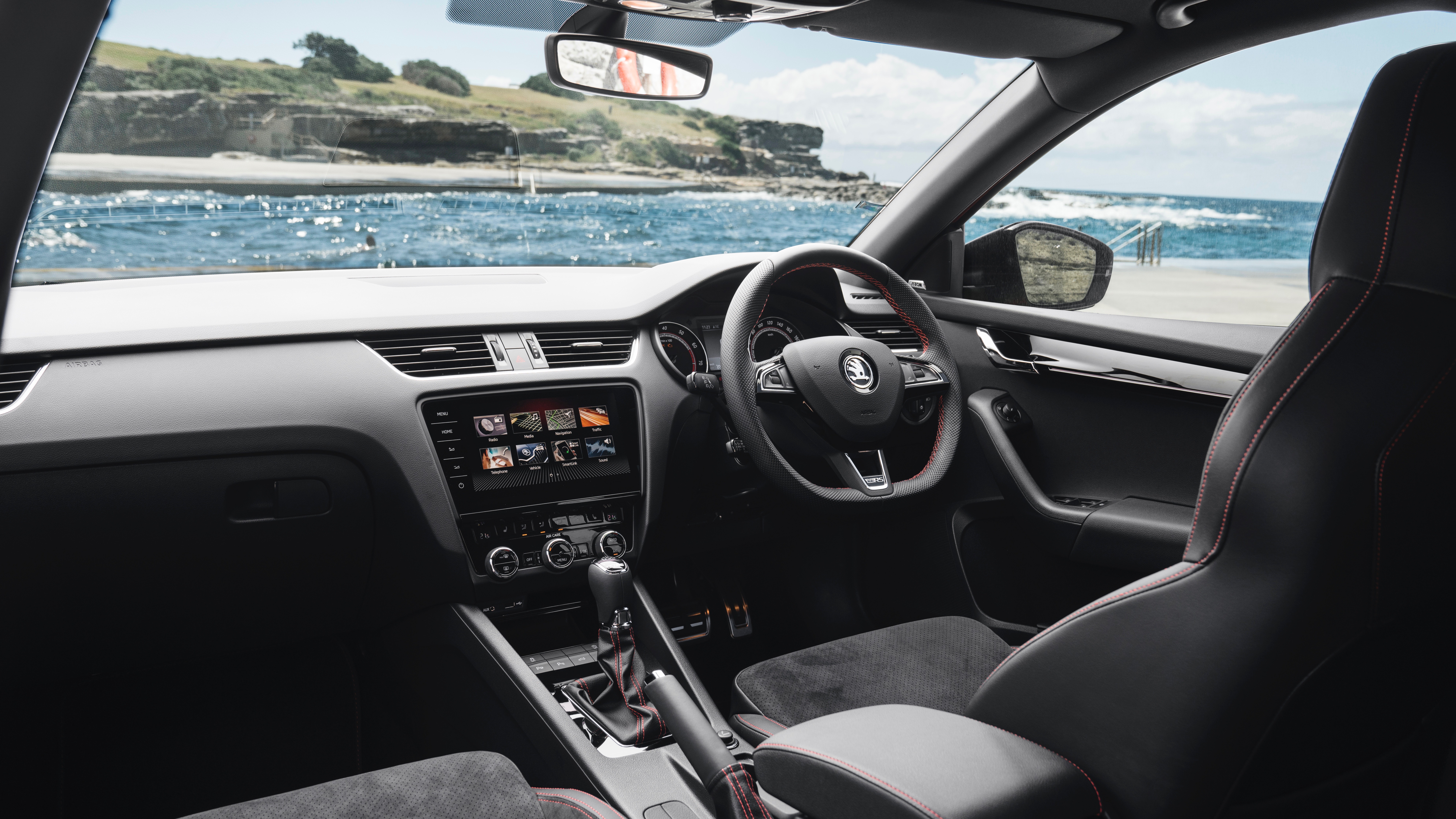 2018 Skoda Octavia RS245 dashboard
