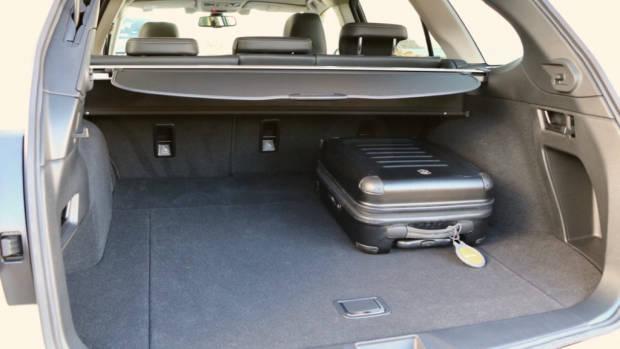 2017 Subaru Outback Boot Space