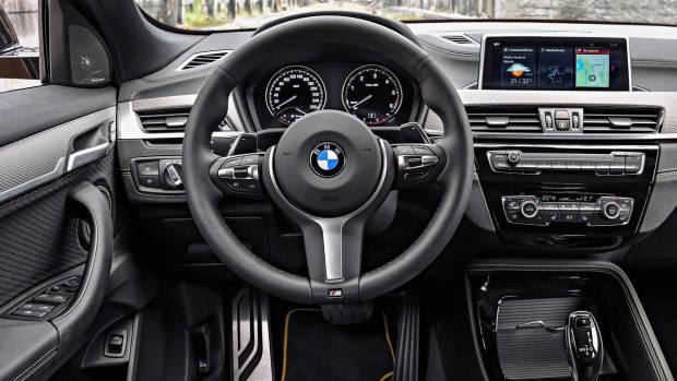 2018 BMW X2 dashboard