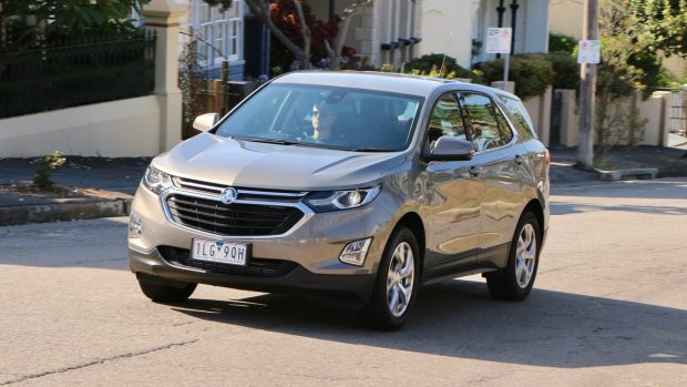 2018 Holden Equinox LT Review Pepperdust Driving Front End