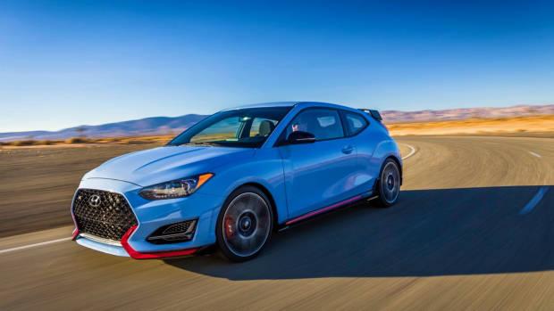 2018 Hyundai Veloster N Performance Blue