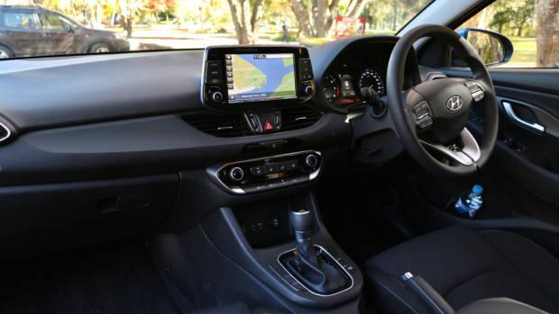 2018 Hyundai i30 Active Dashboard and Front Seat