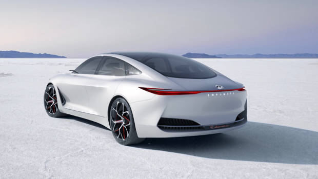 2018 Infiniti Q Inspiration Concept rear close