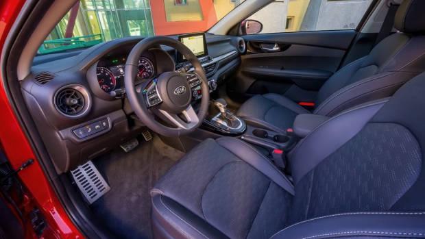 2018 Kia Cerato Sedan Black Interior