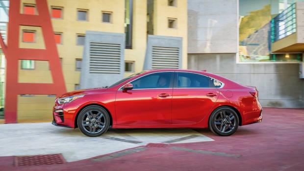 2018 Kia Cerato Sedan Red