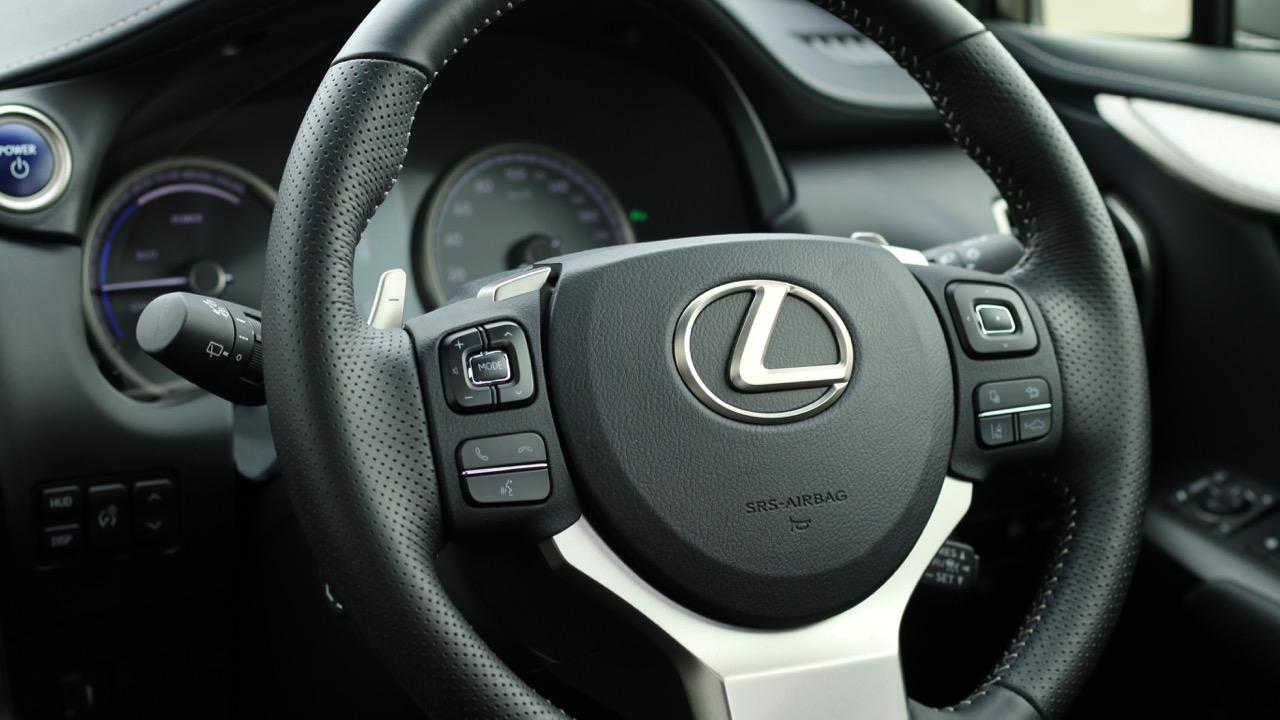2018 Lexus NX300h F Sport Steering Wheel Australia