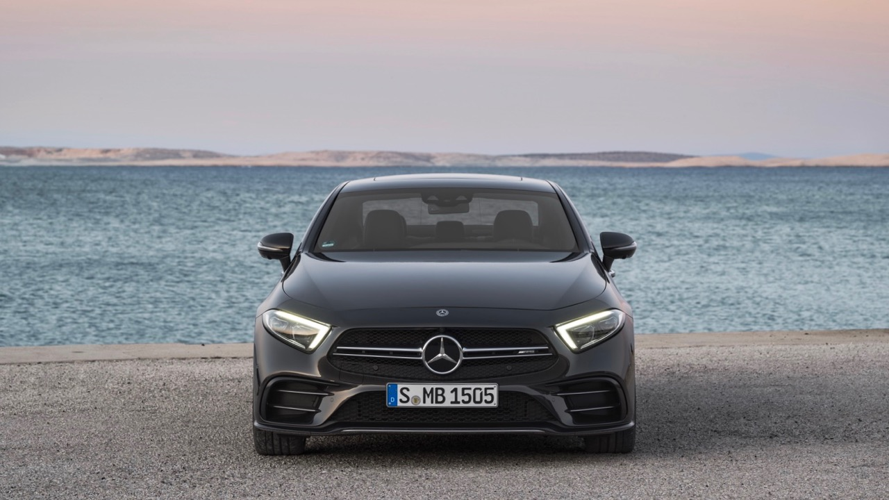 2018 Mercedes-AMG CLS 53 Grey Front End