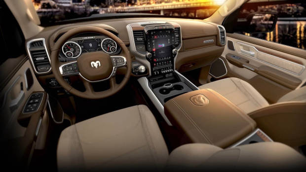 2018 RAM 1500 Beige Leather Interior Australia