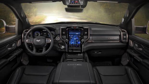 2018 RAM 1500 Limited Black Leather Interior Australia