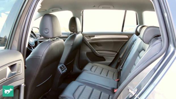 2018 Volkswagen Golf Alltrack Rear Seat Space