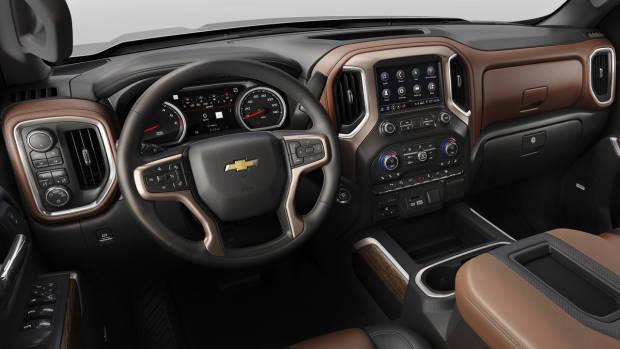 2019 Chevrolet Silverado cabin