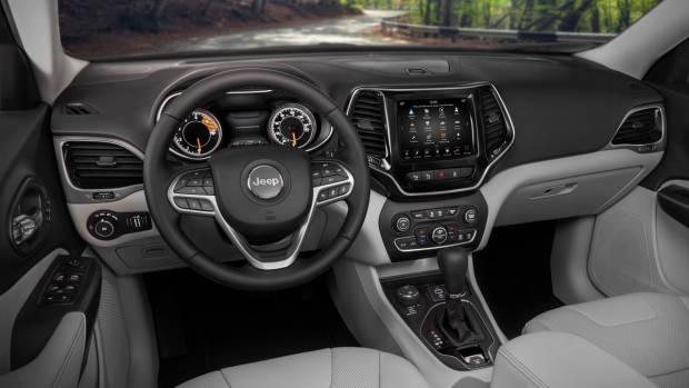 2019 Jeep Cherokee Limited interior