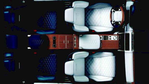 2019 Range Rover SV Coupe interior top